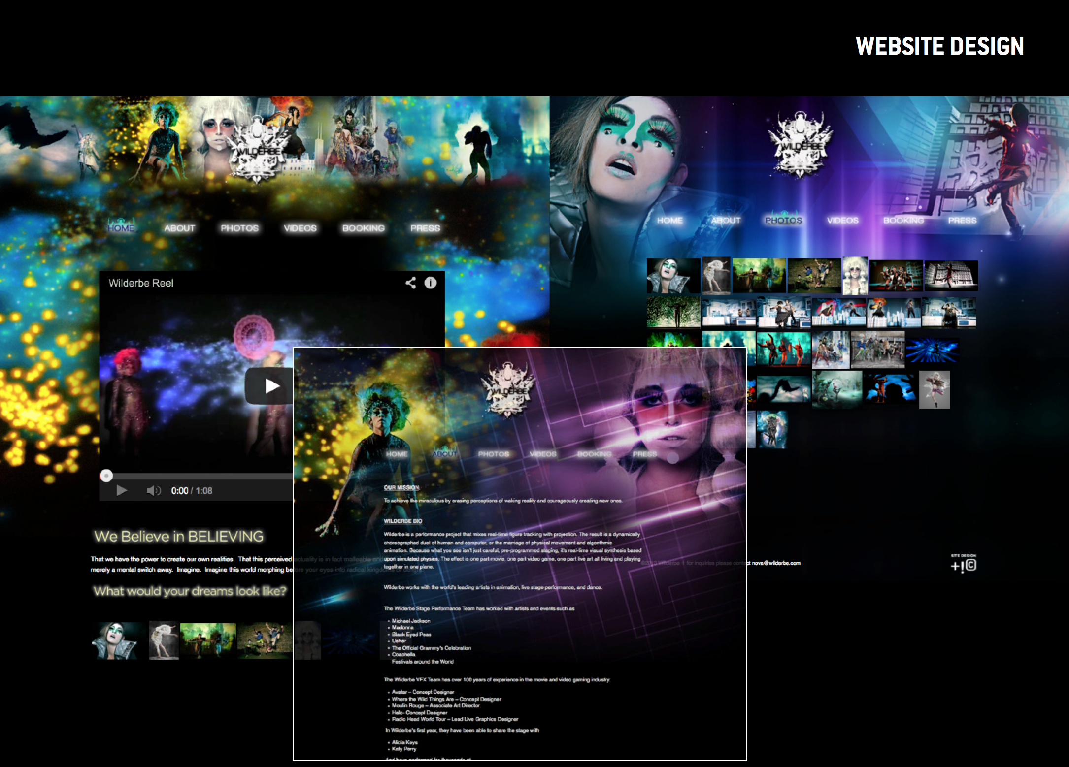 Wilderbe Website