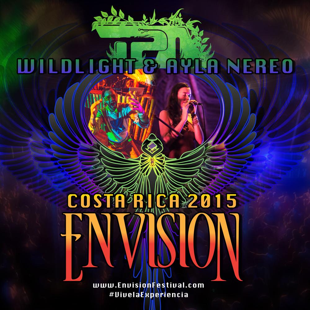Envision Festival '15 Flyer Design