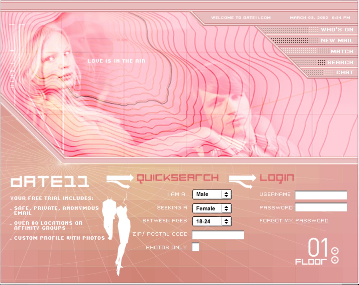 DATE 11 Web Design