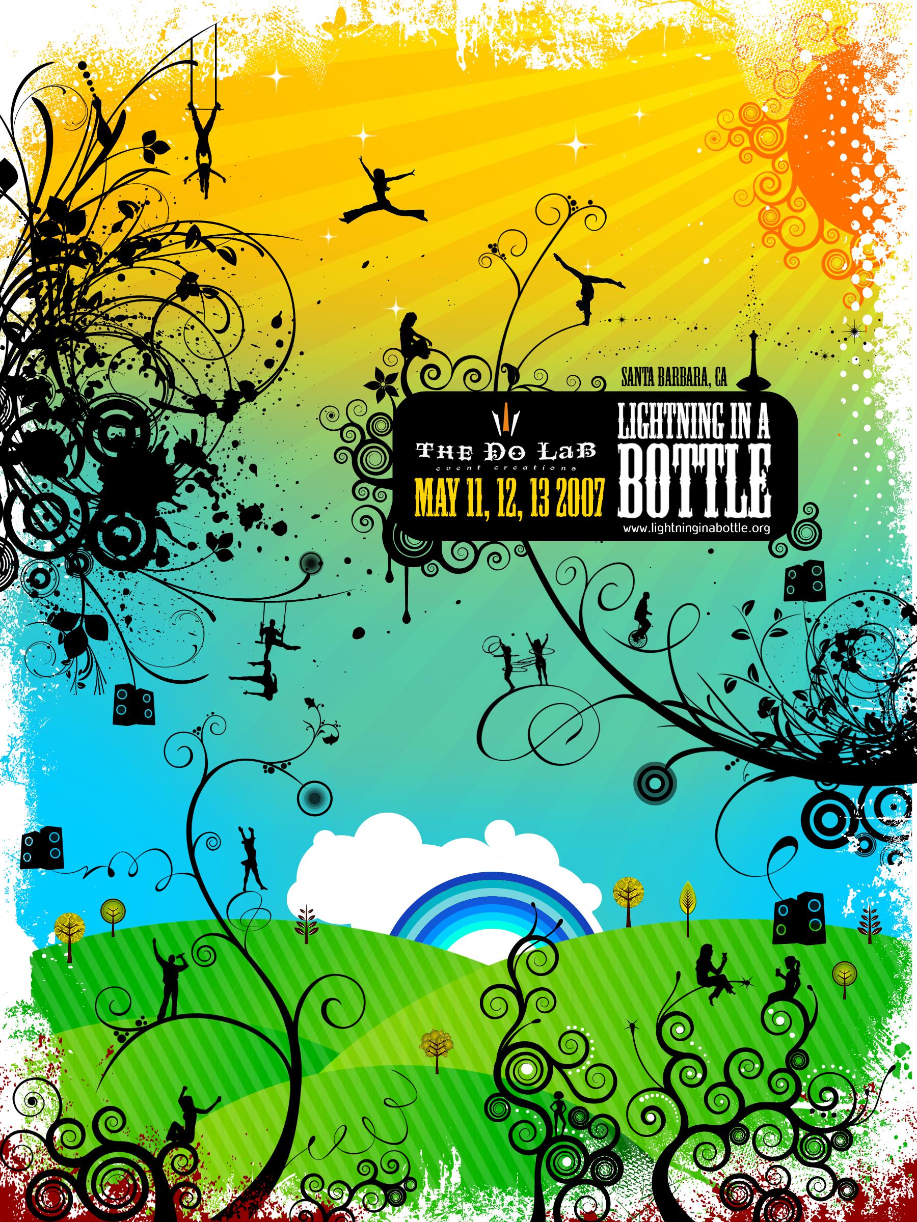 Lightning in a Bottle 2007 – Poster Winner