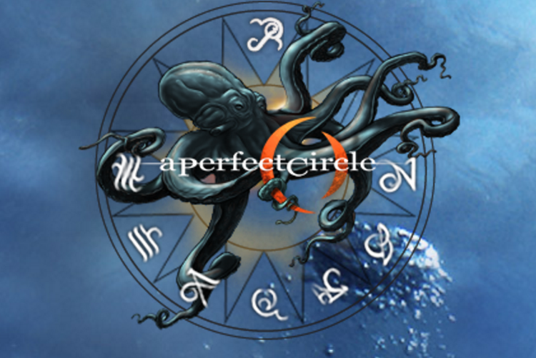 A Perfect Circle logo and website