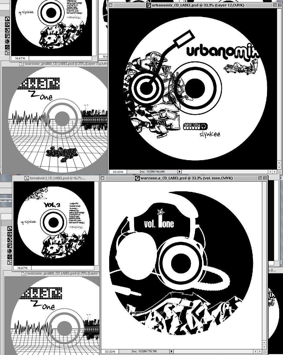 Dj Slynkee – CD Design and Brand