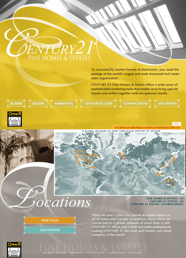 Century 21 Real Estate – CD promo design