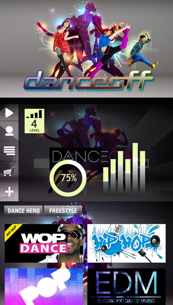 Dance Off App