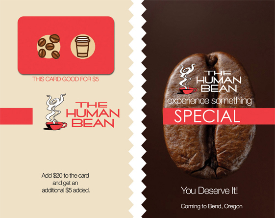 Human Bean Coffee- Promo Material
