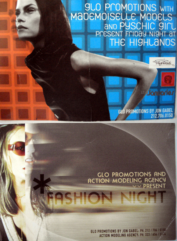 GLO Promotions – NYC Event Flyers