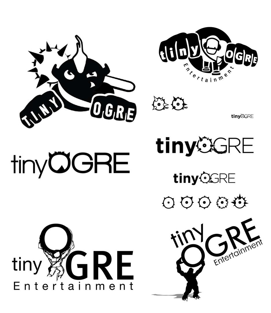 Tiny Ogre -Brand Design – Design Options: Credit. Silo Design