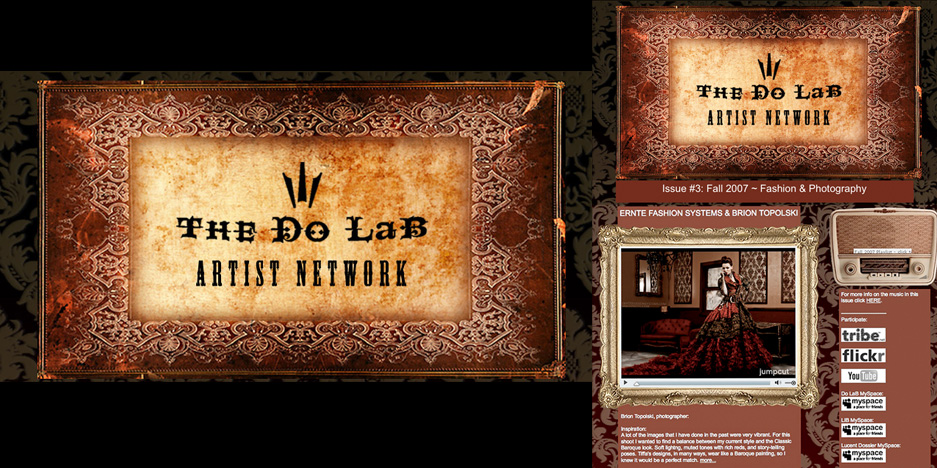 DO LAB – Artist Network 1-5 Publications