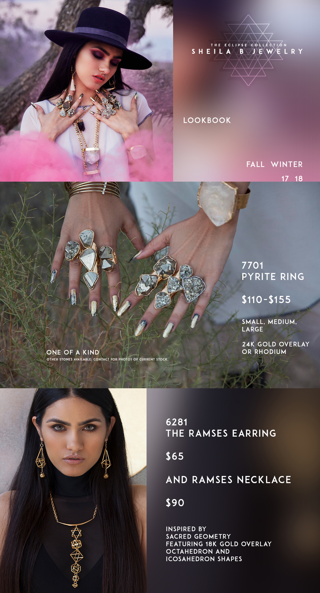 Sheila B Jewelry – Brand and Lookbook